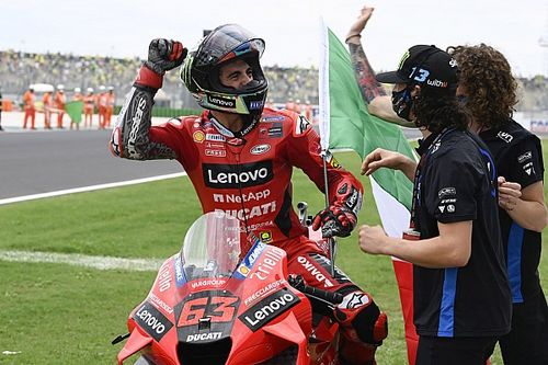 "Bagnaia was ""terrified"" of repeating 2020 Misano MotoGP race crash"