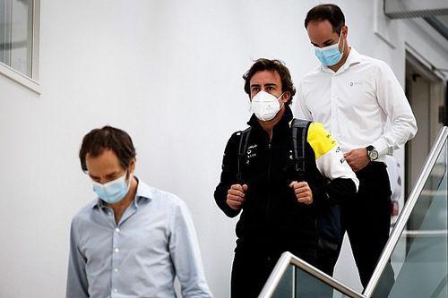 Alonso comienza a trabajar con Renault de cara a 2021