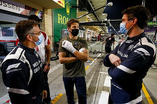 Romain Grosjean se someterá a un transplante de piel en la mano