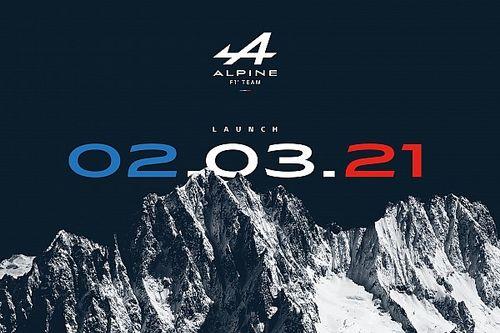 Así fue la presentación del Alpine F1 de Alonso