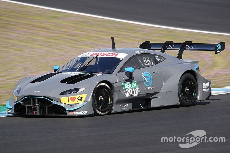 R-Motorsport Aston Martin DTM car breaks cover