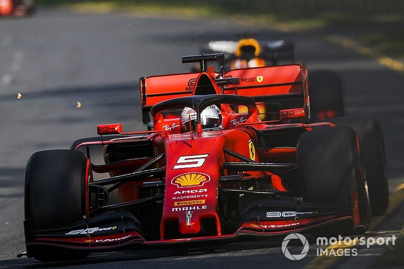 Vettel: Ferrari teste kıyasla