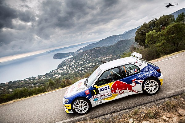 Other rally Special feature Loeb puts on a show in Peugeot 306 Maxi