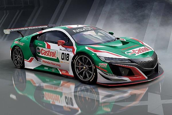 Blancpain Endurance Honda NSX GT3 to make European debut at Spa