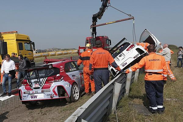 Michelisz si becca 10 posizioni di penalità in griglia per l'incidente con Muller