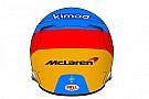 Алонсо радикально изменил раскраску шлема