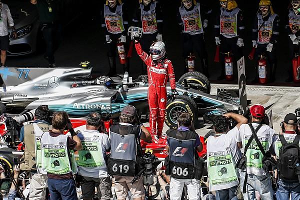 Fórmula 1 La historia detrás de la foto: Vettel y Ferrari vuelven a la senda del triunfo