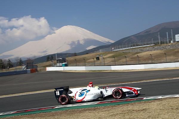 Super Formula Sekiguchi quickest on penultimate Super Formula test day