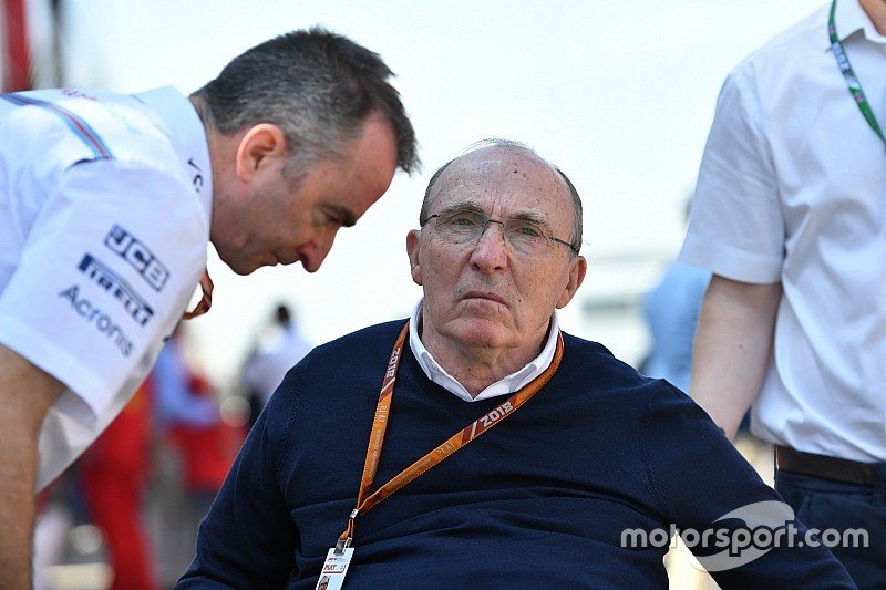 A Williams a bukás ellenére kiáll Paddy Lowe mellett
