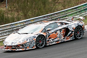 Automotive Breaking news Lamborghini Aventador SVJ reveal to include Nurburgring record?