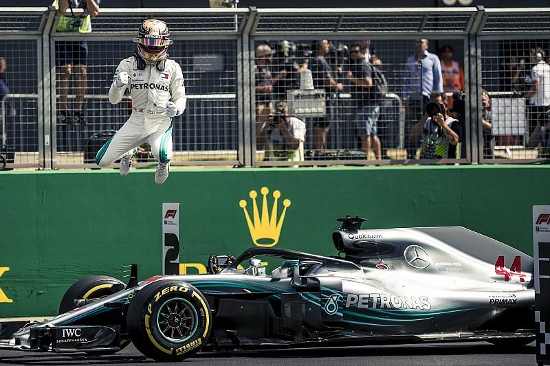 Hamilton se lleva una ajustada pole en su casa