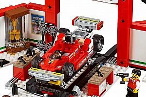 General Breaking news Lego hadirkan miniatur Ferrari Gilles Villeneuve