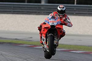Lorenzo anggap Ducati lebih kencang di tikungan