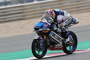 Moto3 Gara Martin resiste a Canet e vince in volata in Qatar, sul podio Dalla Porta