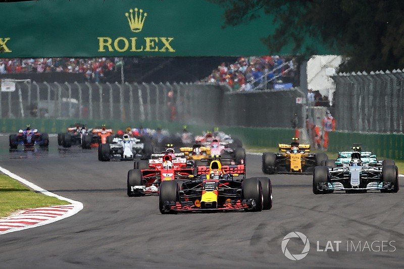 Liberty evaluating F1 circuit design tweaks to improve racing
