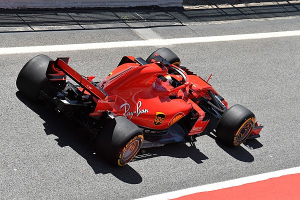 Vettel : Avec les pneus normaux, ça aurait été