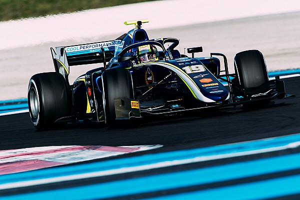 FIA F2 Testing report Norris leads Carlin 1-2 on Day 2 of Paul Ricard test