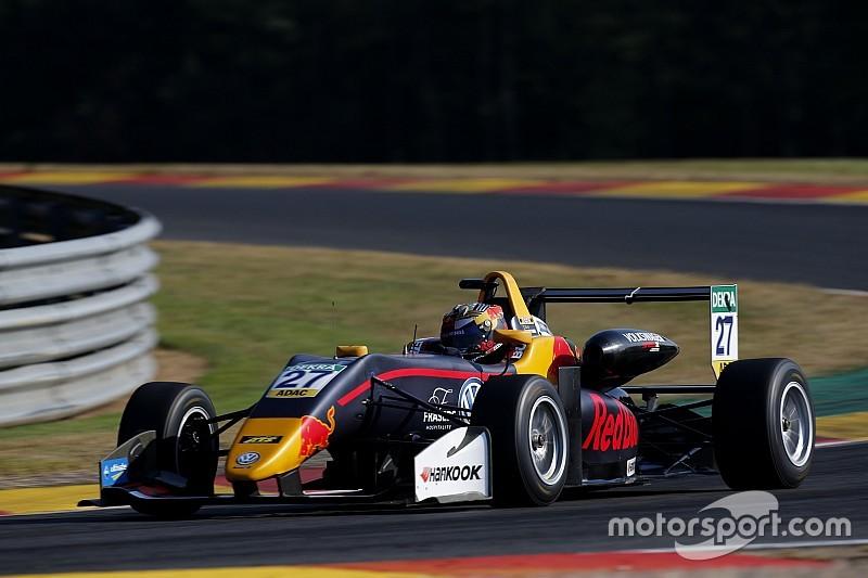 Лидеры столкнулись во второй гонке Ф3 в Спа, Тиктум победил и возглавил чемпионат