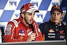 MotoGP Dovizioso anggap Marquez akan sulit dikalahkan