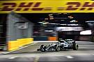 新加坡大奖赛FP3:罗斯伯格蝉联第一,红牛表现抢眼