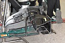 Bite-size tech: Mercedes development front wing and brake duct