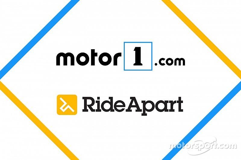 Motor1.comがオートバイサイトのRideApart.comを買収