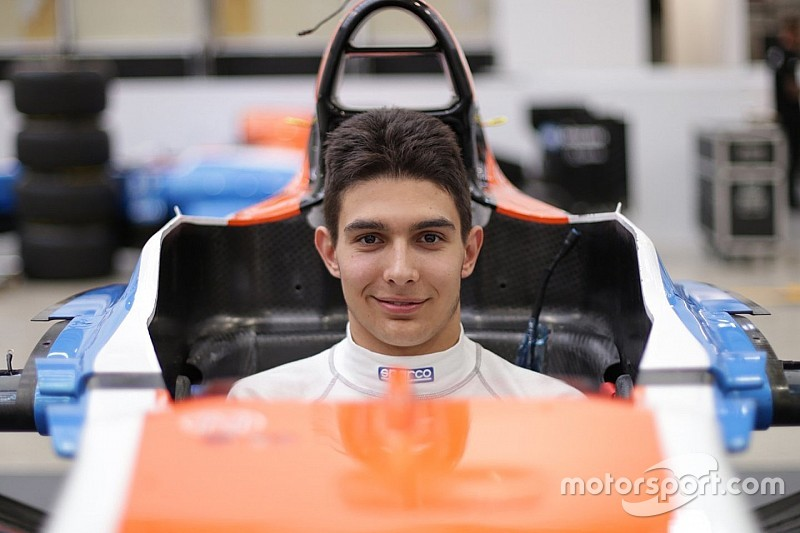 Ocon announced as Haryanto's replacement at Manor