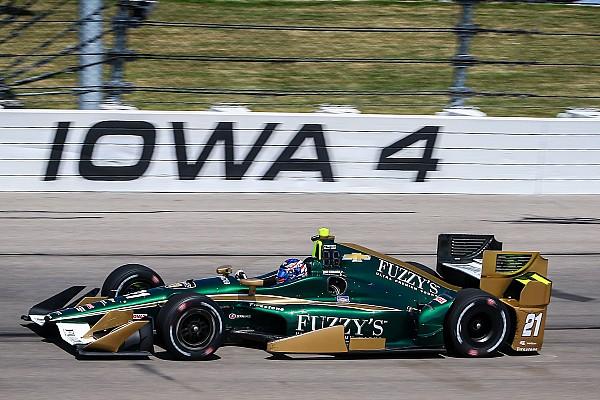 IndyCar Ньюгарден выиграл в Айове, Алёшин – 5-й