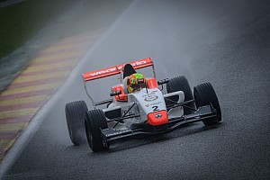 Formula Renault Race report Spa NEC: Norris controls wet Race 1