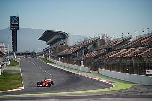 F1 Artículo especial Alineación de pilotos para la segunda semana de test de F1