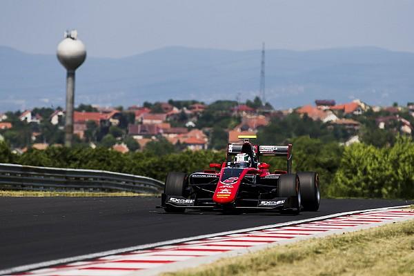 Fukuzumi lideró el último día de test de GP3 en Hungría