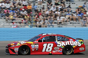 NASCAR Cup Breaking news Phoenix victory slips away from Busch after Logano's crash