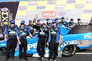 NHRA Special feature Force win prompts thoughts of Medlen and the future