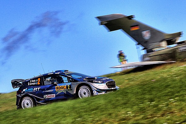 Germany WRC: Tanak maintains healthy lead into final stages