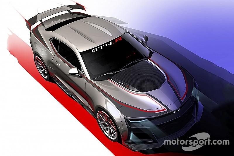 Deze Chevrolet Camaro GT4 zien we binnenkort op het circuit