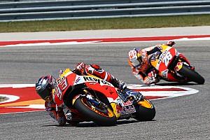 MotoGP Breaking news Honda problems not gone despite Austin win - Marquez
