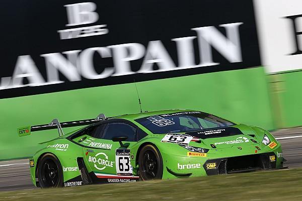 Blancpain Endurance Race report Lamborghini trio win Monza Blancpain Endurance opener