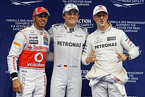 Rosberg tartott Schumachertől, amikor csapattársak lettek