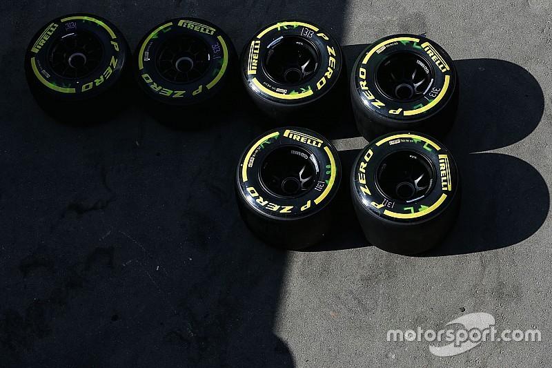 Гран При Бахрейна: шины на гонку