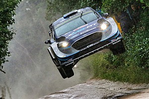 WRC Leg report Poland WRC: Victory battle reshaped by eventful stage
