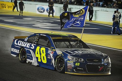 "Jimmie Johnson: ""There's no way they're changing rules based on the 48"""