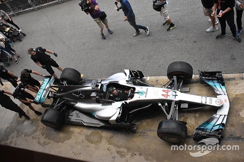 Technique - Les modifications majeures apportées à la Mercedes W08