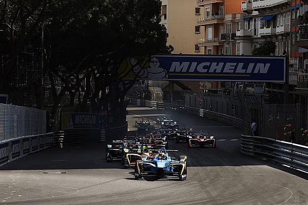 Le tracé F1 à Monaco,