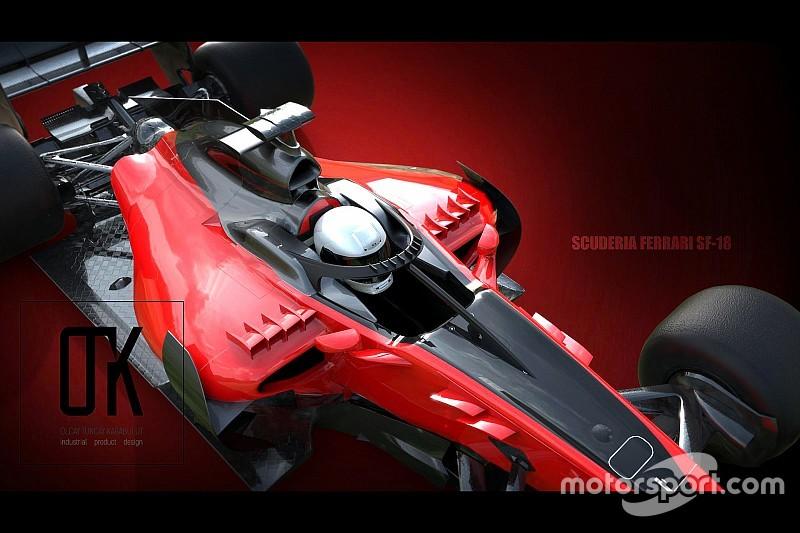 Tasarım: Ferrari 2018 Halo Konsepti