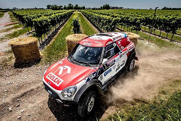 Cross-Country Rally Reporte de la carrera Przygonski logró la victoria en la Baja Italia