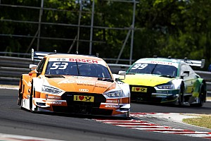 DTM Breaking news Audi: Added weight despite no top result