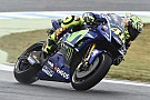 MotoGP Rossi left with