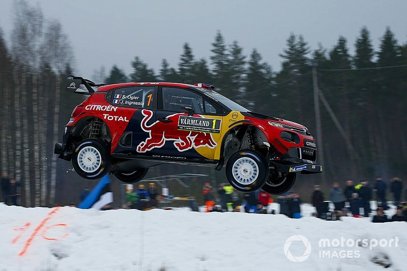 Ogier encouraged by Citroen's loose-surface speed