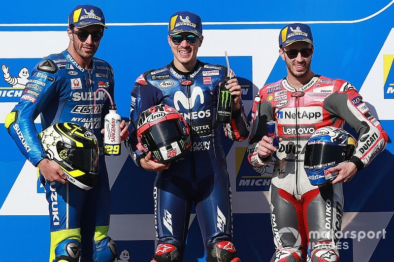 Australian MotoGP: Vinales breaks Yamaha's winless streak