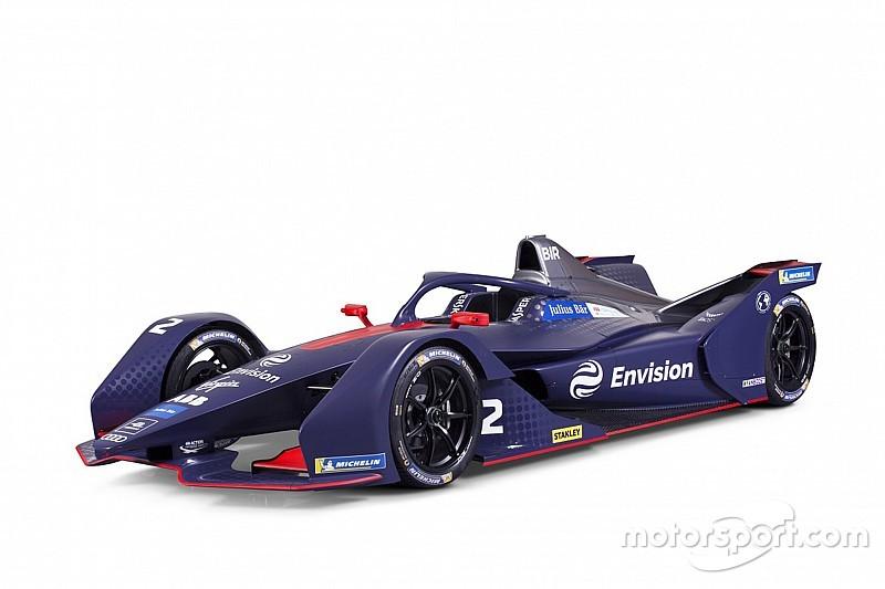Virgin presentó su Gen2 de Fórmula E y confirmó a Frijns